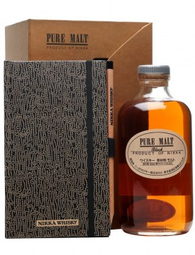 nikka-pure-malt-black-0-5l-notes